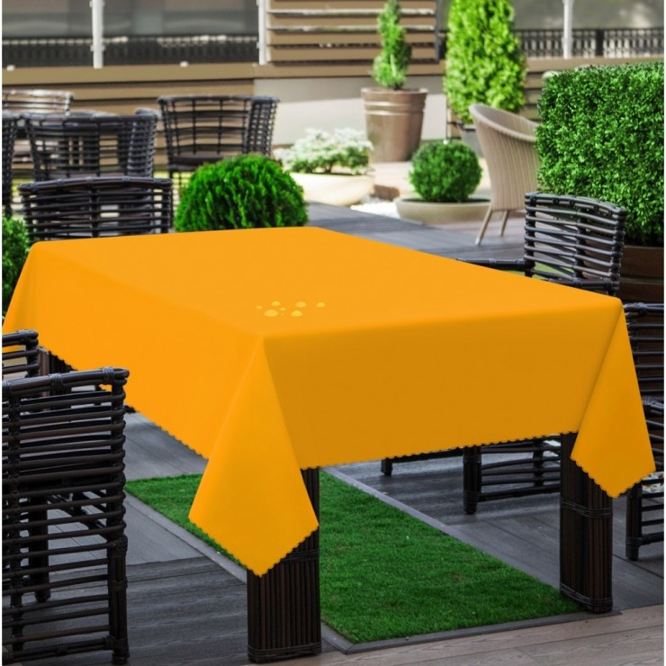 Garden tablecloth 290 yellow