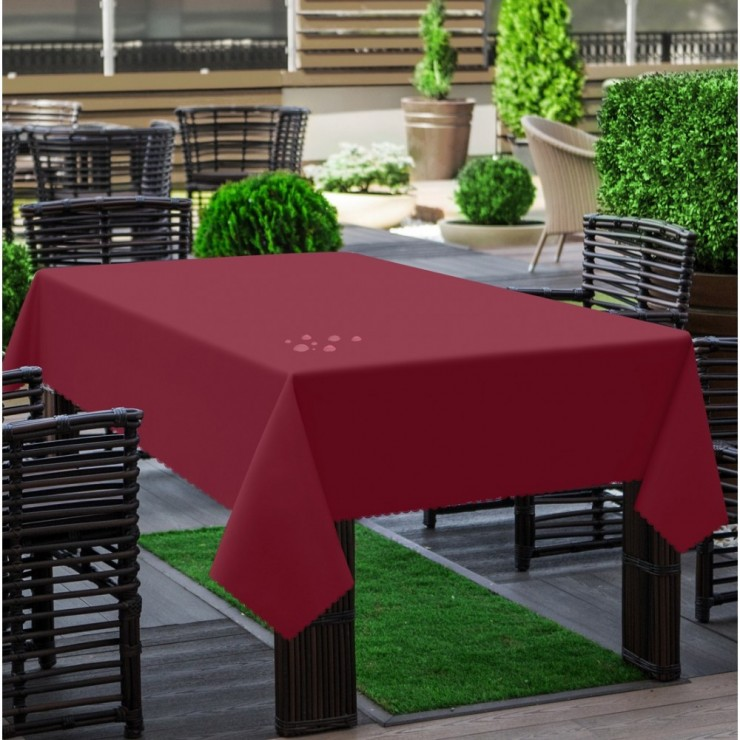 Garden tablecloth 290 plum