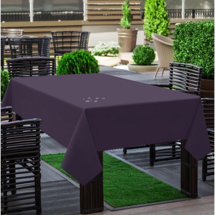 Garden tablecloth 290 dark purple