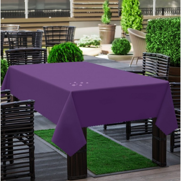Garden tablecloth 290 purple