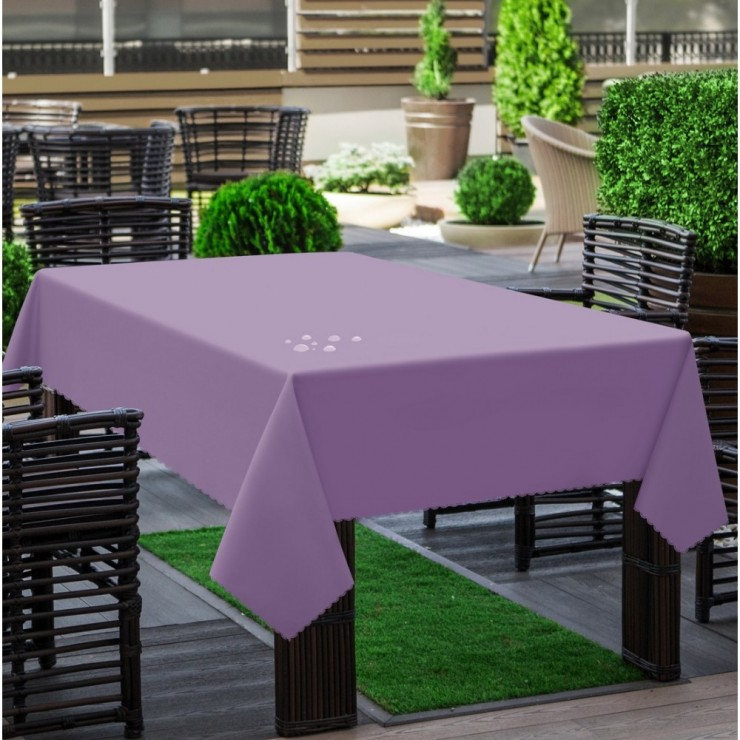 Garden tablecloth 290 lila