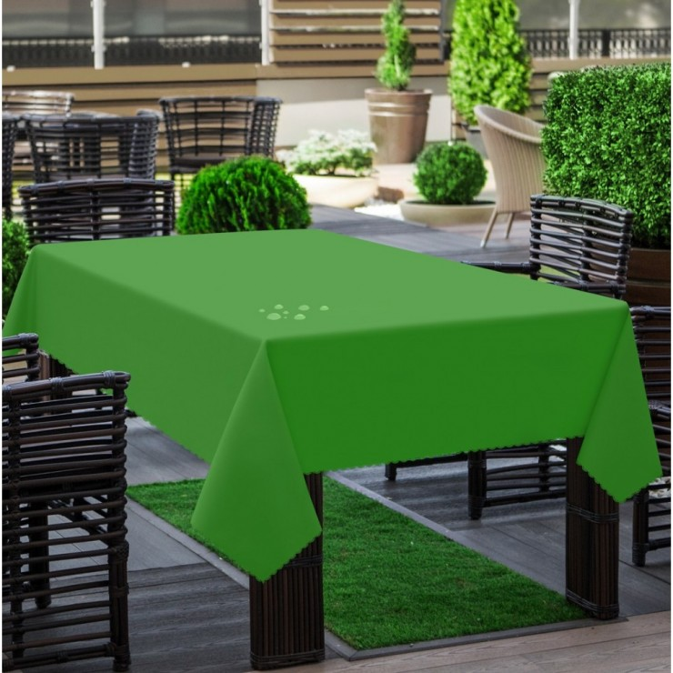 Garden tablecloth 290 green
