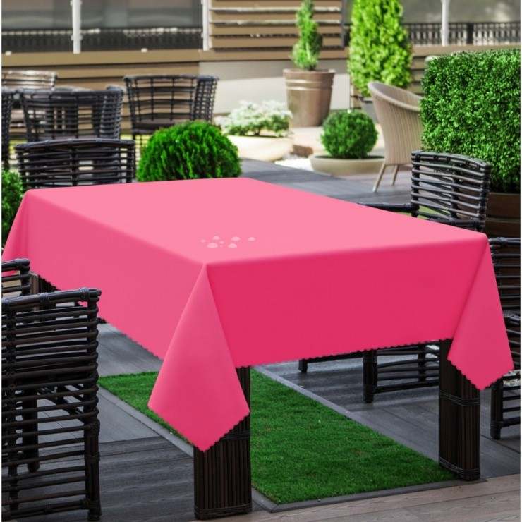 Garden tablecloth 290 pink
