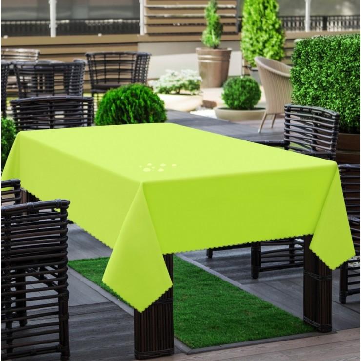 Garden tablecloth 290 green lime