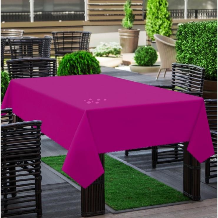 Garden tablecloth 290 fuxia