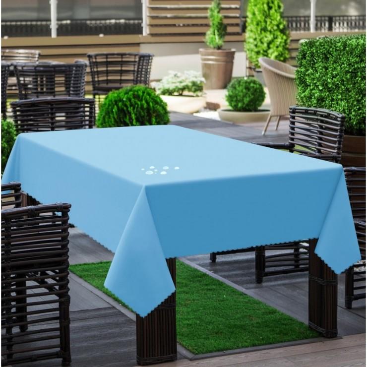 Garden tablecloth 290 light blue