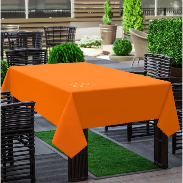 Garden tablecloth 290 orange