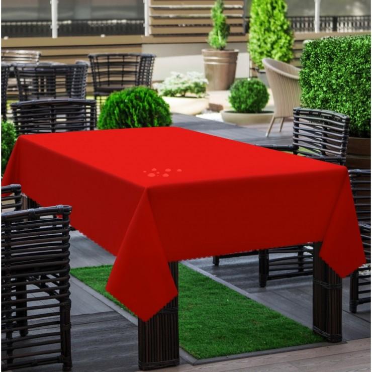 Garden tablecloth 290 red