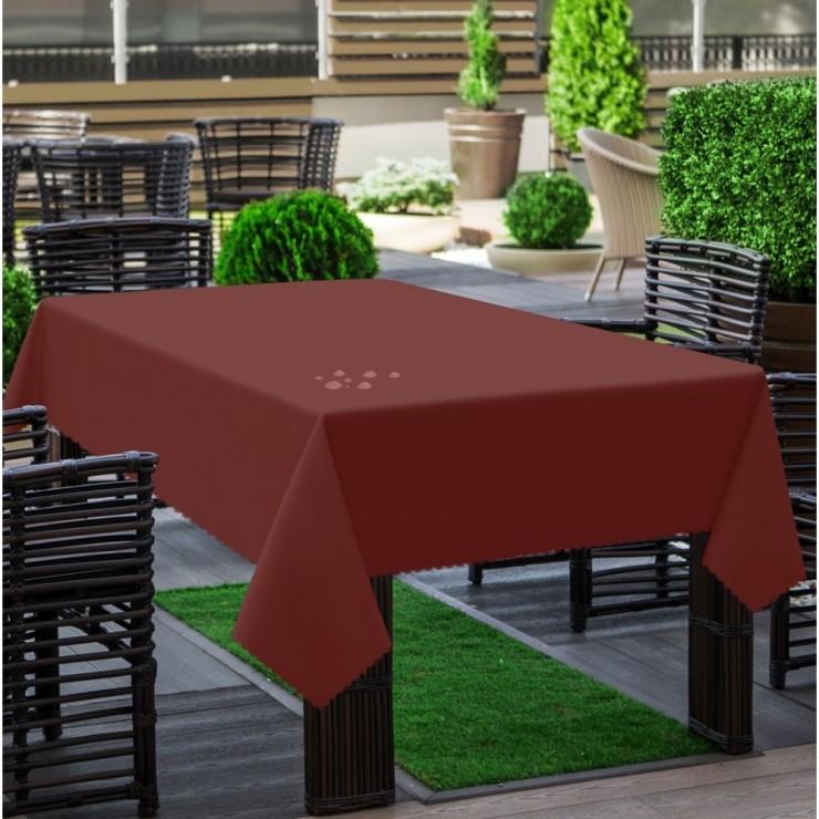 Garden tablecloth 290 bordeaux