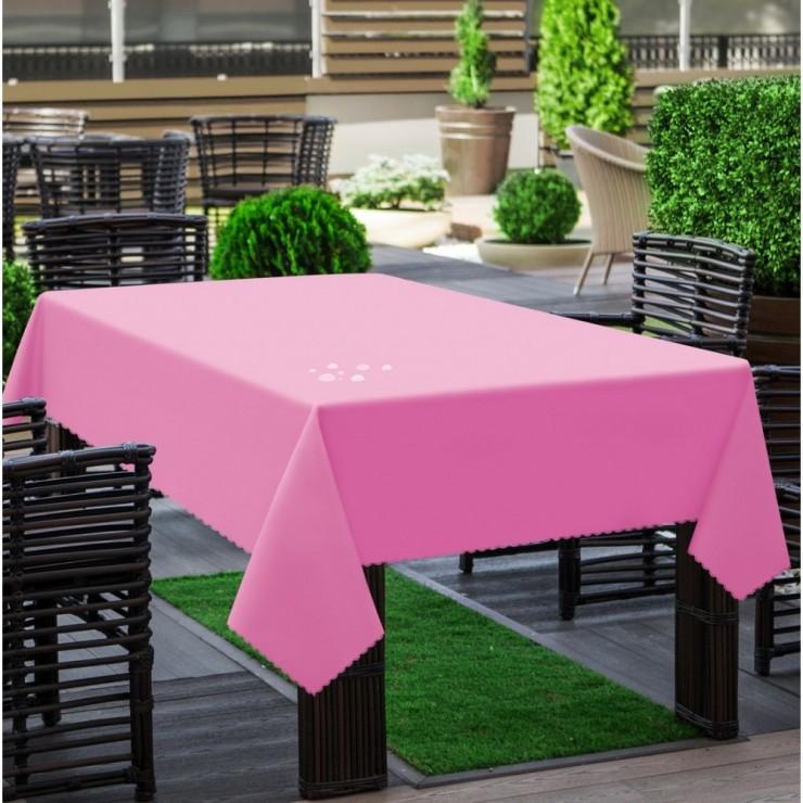Garden tablecloth 290 light pink