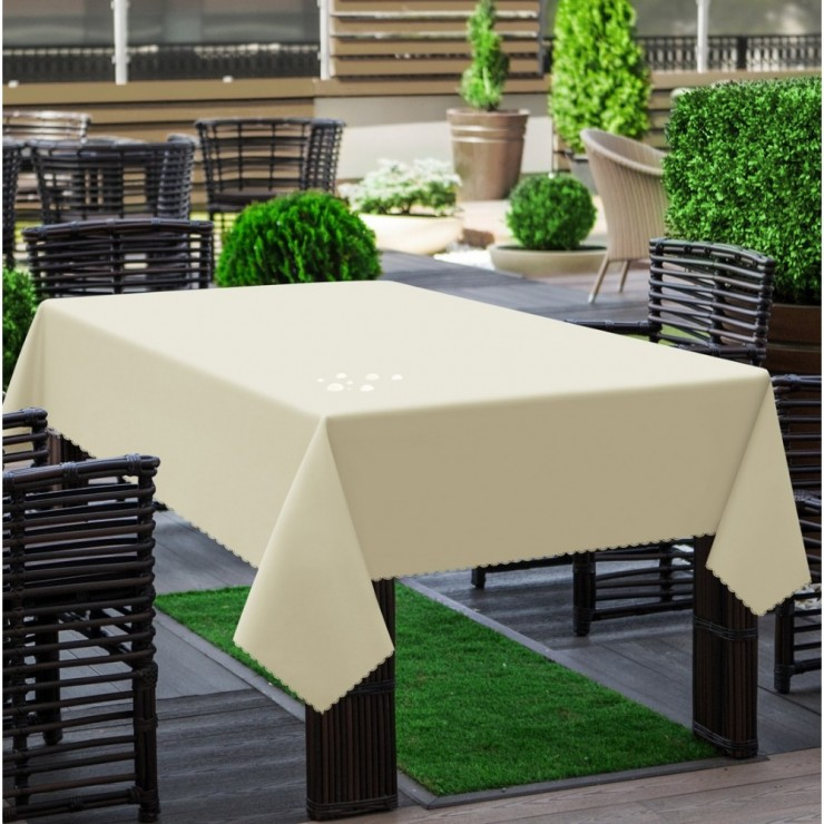 Garden tablecloth 290 light beige