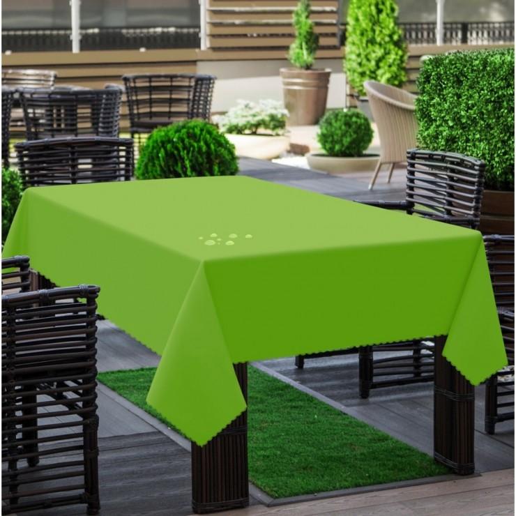 Garden tablecloth 290 dark lime