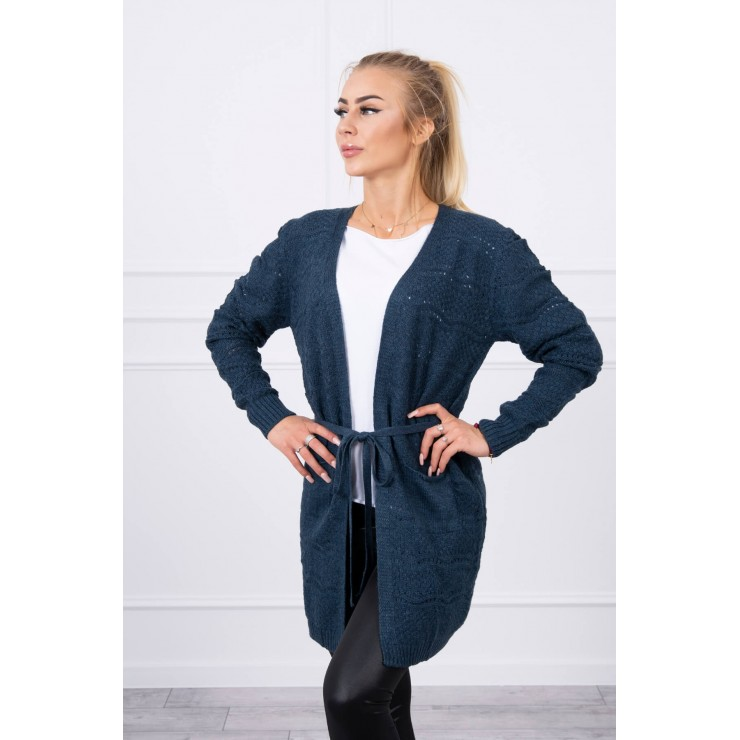 Women's sweater with waves jeans