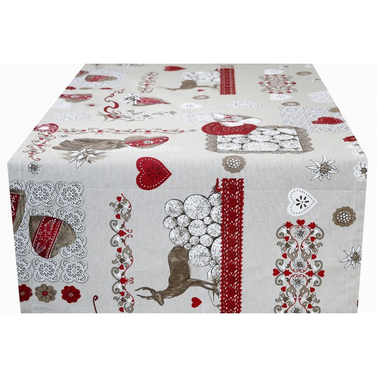 Behúň na stôl Srnec Made in Italy