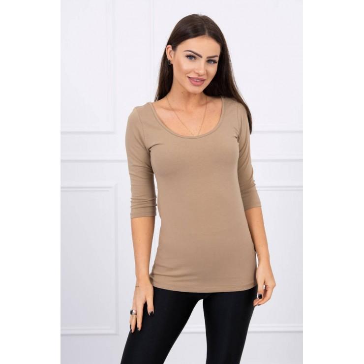 Women T-shirt MI8832 camel