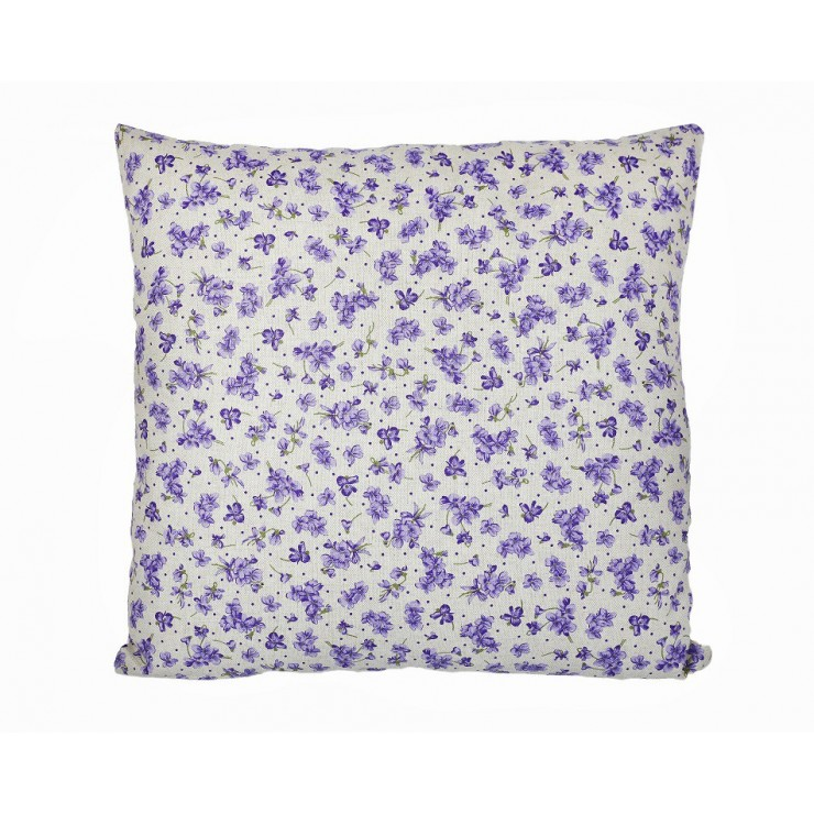 Pillowcase 40x40 cm purple violets