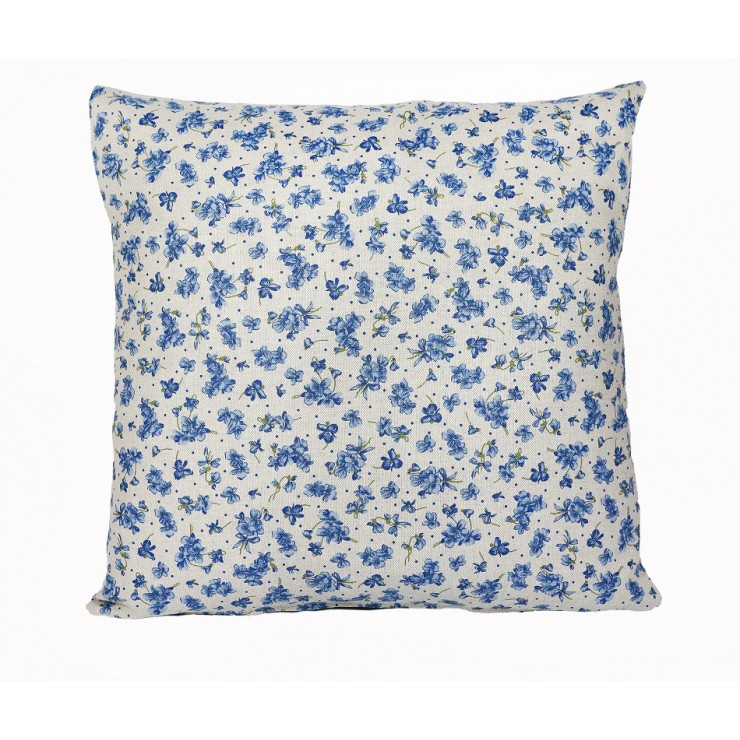 Pillowcase 40x40 cm blue violets
