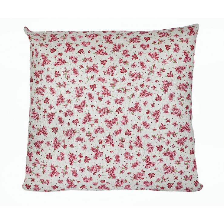 Pillowcase 40x40 cm fuxia violets