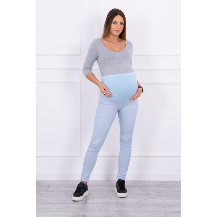 Maternity pants MI3672 light blue