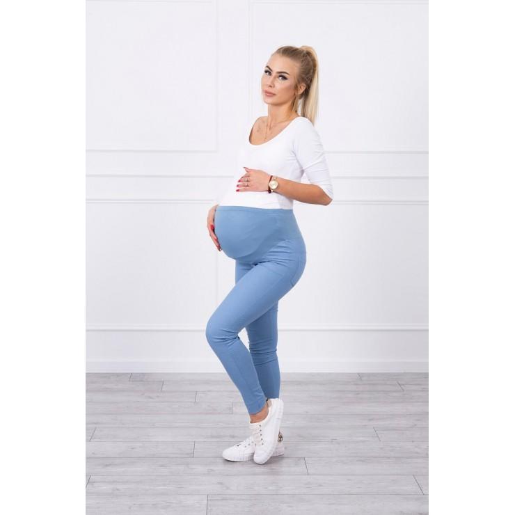Těhotenské kalhoty MI3672 jeans