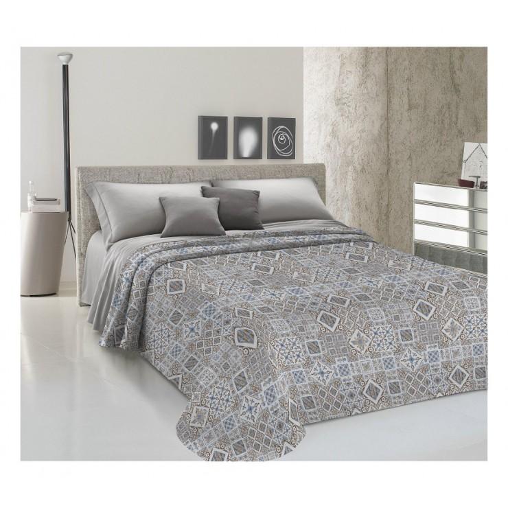 Prikrývka na posteľ Piquet Majolika béžová