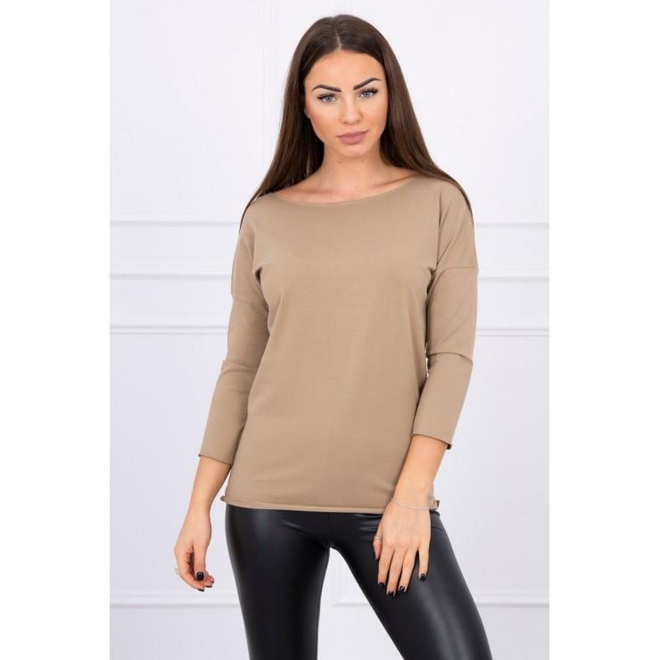 T-shirt CASUAL MI8834 camel