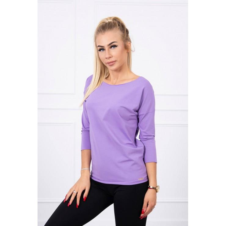 T-shirt CASUAL MI8834 purple