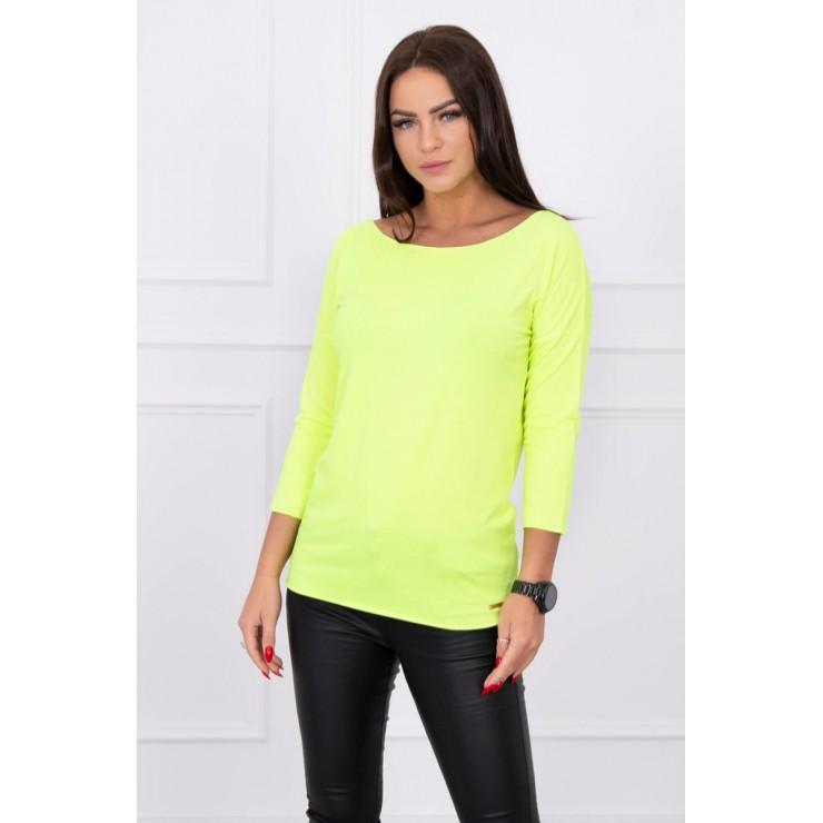 T-shirt CASUAL MI8834 yellow neon