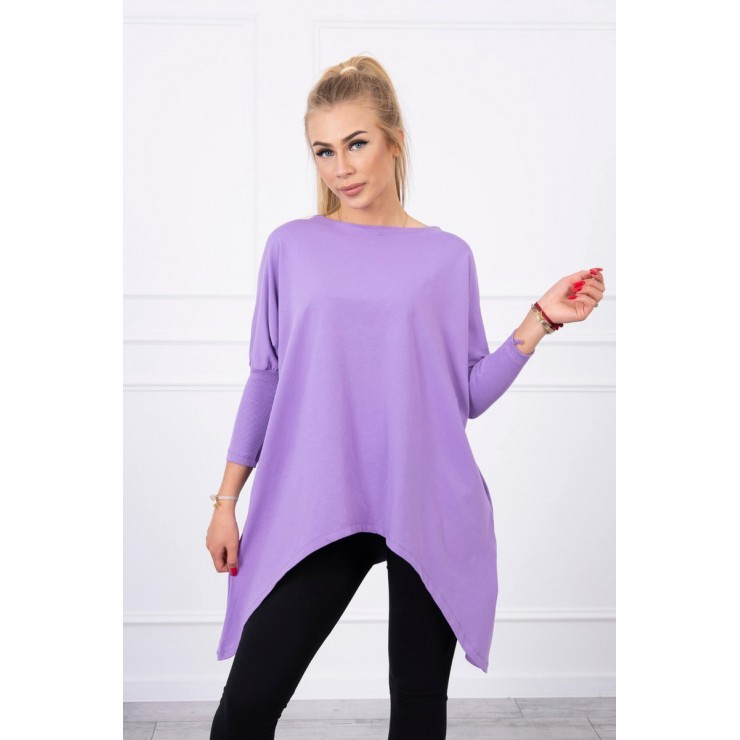 Women's extended tunic MI8875 purple