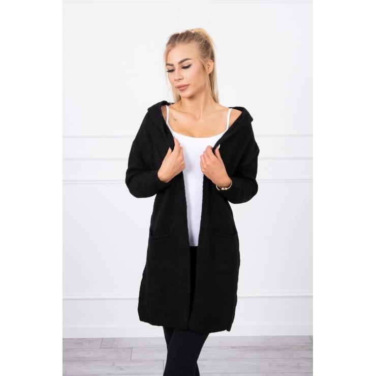 Sweater with hood MI2019-10 black