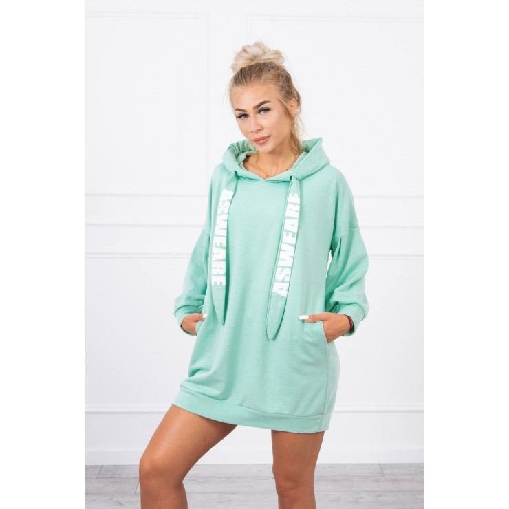 Dress with pocket MI9109 mint