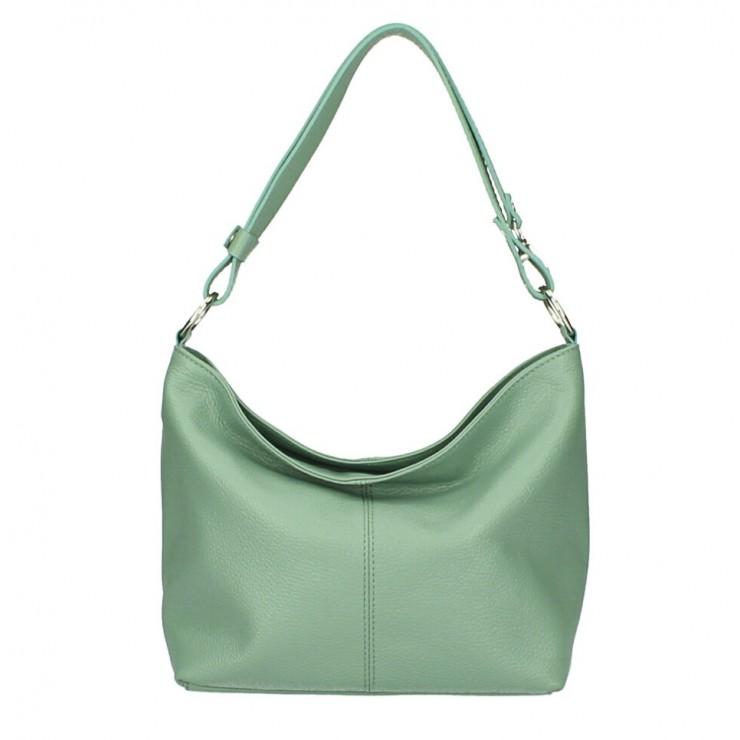 Genuine Leather Handbag 729 mint