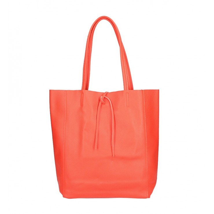 Genuine Leather Maxi Bag 396