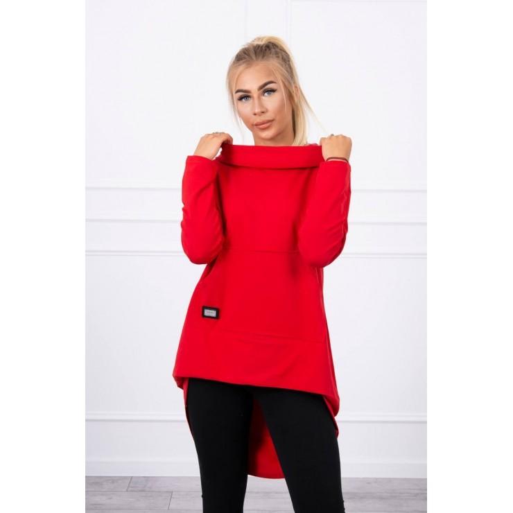 Women's  tunic MI9116 red
