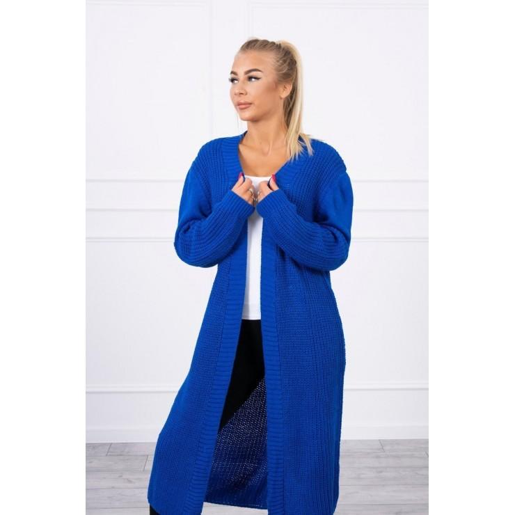 Long sweater MI2019-2 bluette
