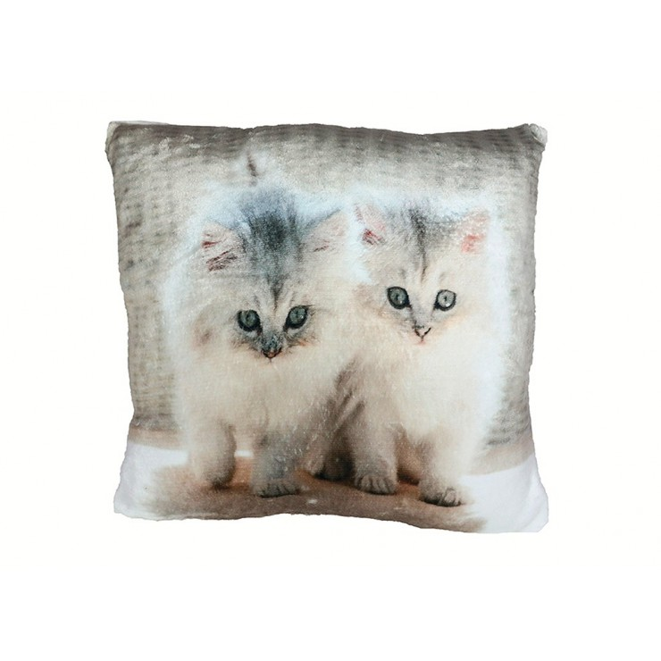 Insulated pillow Cats 40x40 cm