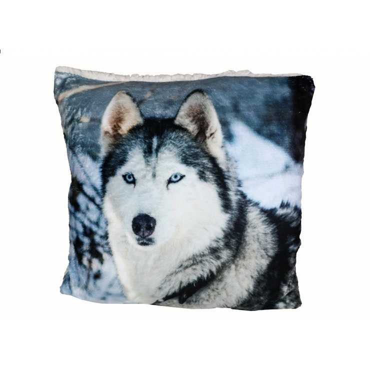 Insulated pillow Husky 40x40 cm
