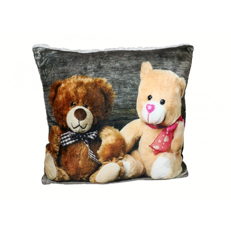 Insulated pillow Teddy Bears 40x40 cm
