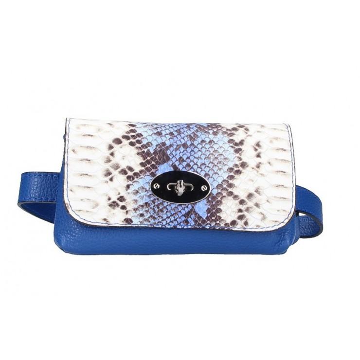 Dámská ledvinka 5346 azurově modrá