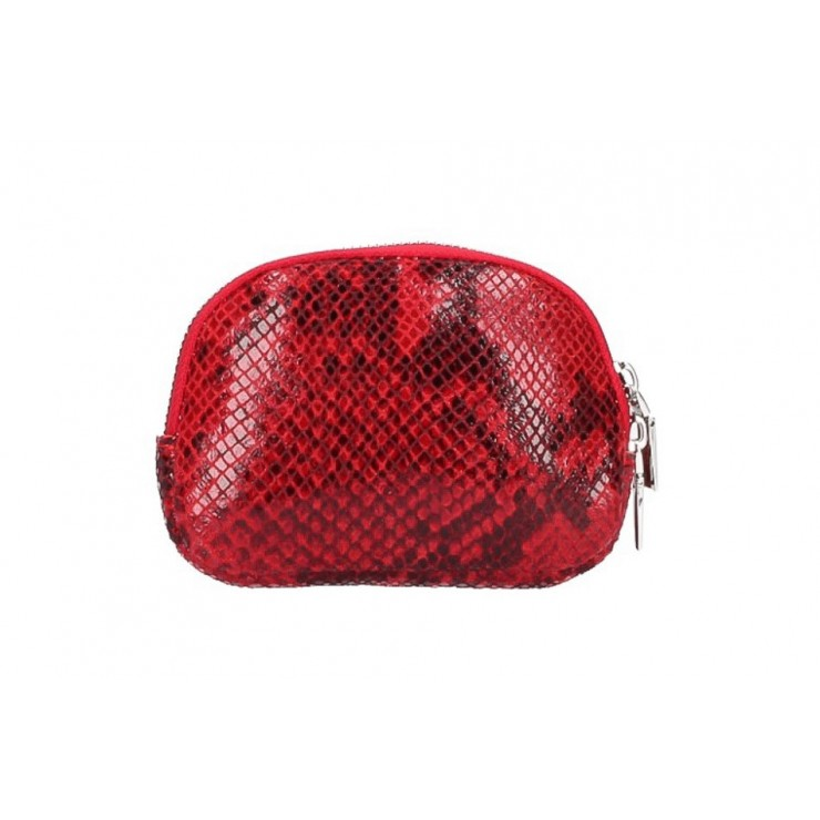 Leather Pouch 5348 red