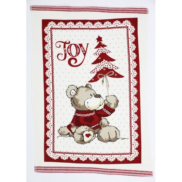 Stylish decorative kitchen towel Joy 50 x 70 cm