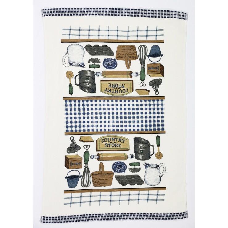 Stylish decorative kitchen towel Country Store 50 x 70 cm