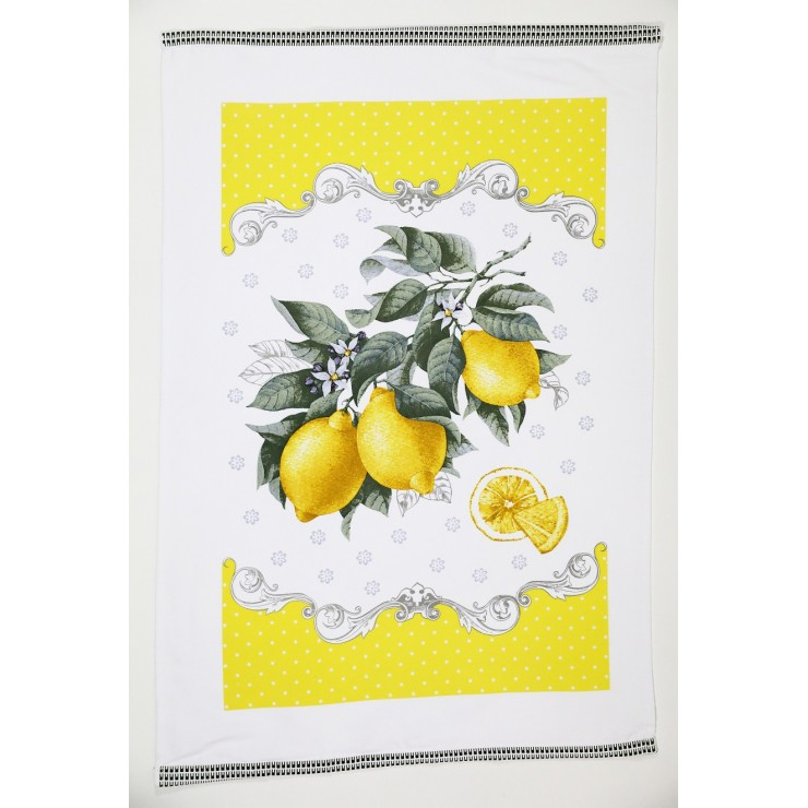 Kitchen towel Lemons 50 x 70 cm