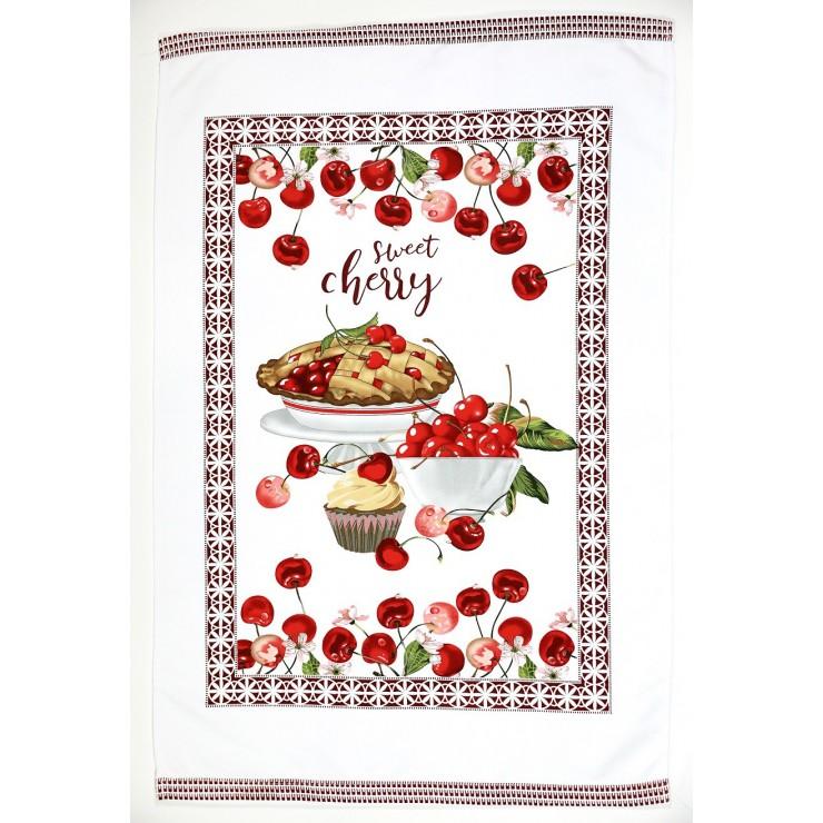 Kitchen towel Cherries 50 x 70 cm