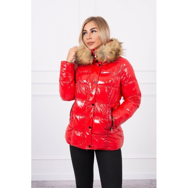 Quilted jacket MI1 red