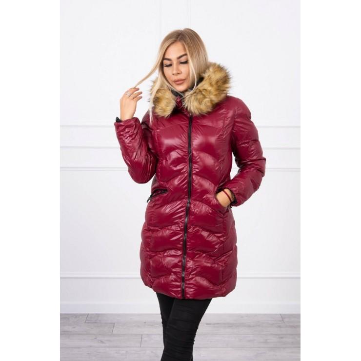 Quilted jacket MI2 bordeaux