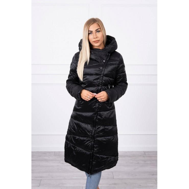 Zimná bunda MI20 lesklá čierna