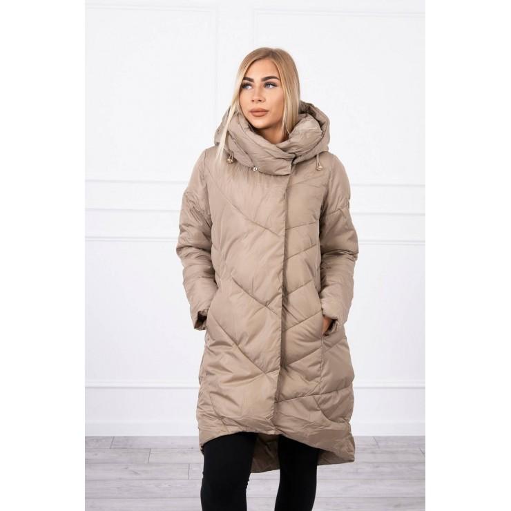 Zimná bunda MI19 béžová