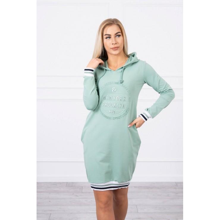 Ladies Dress Brooklyn MI62095 dark mint