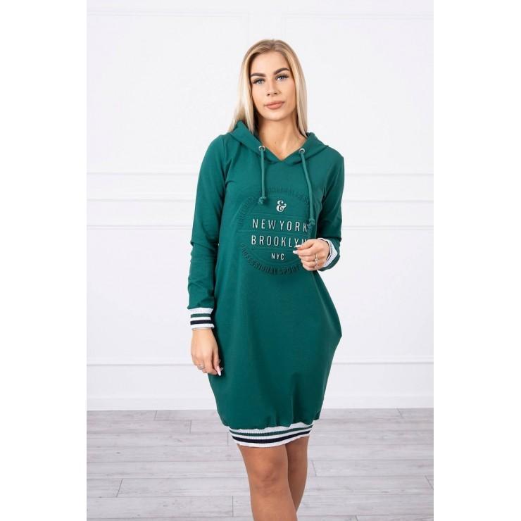 Ladies Dress Brooklyn MI62095 green